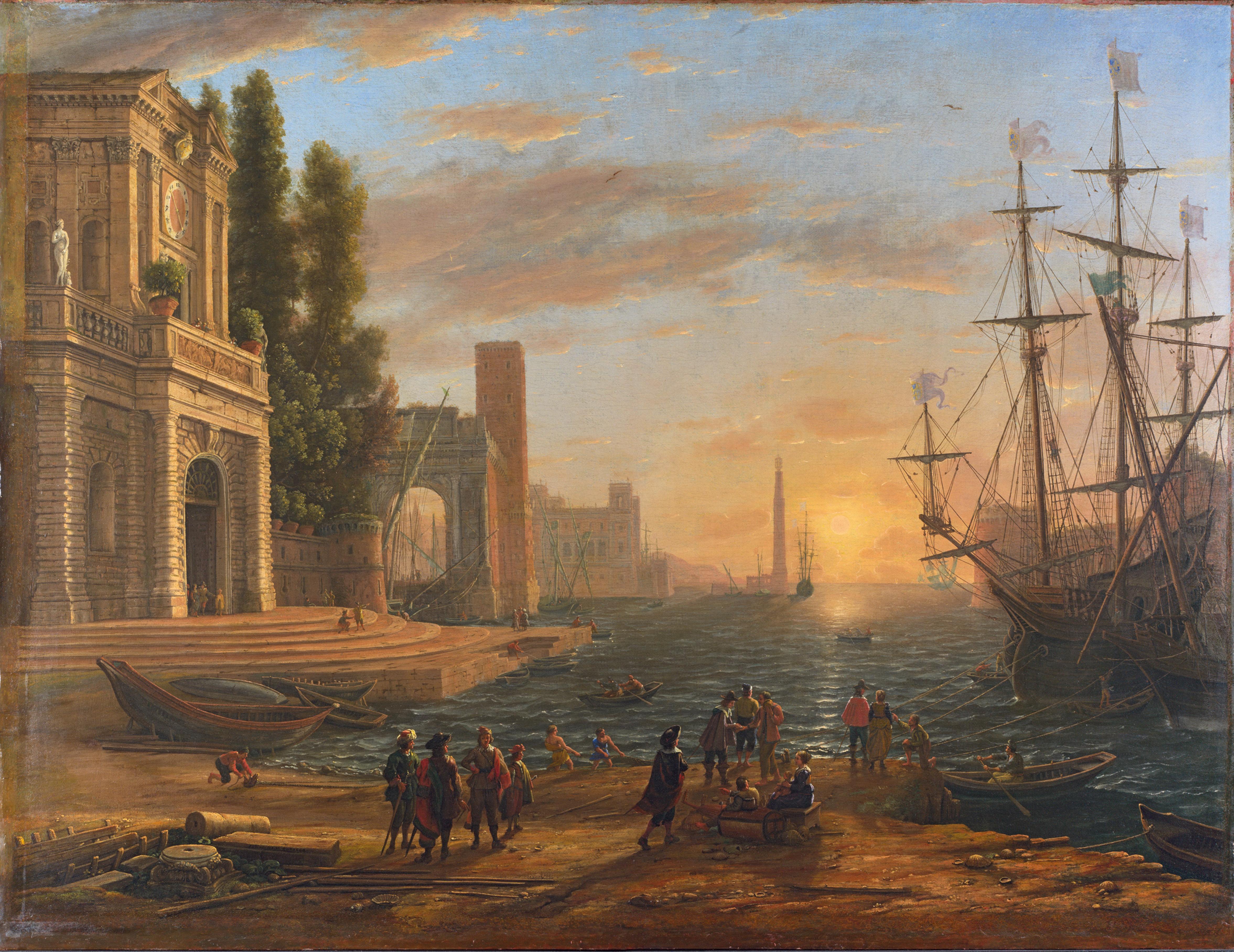 Landschaftsmalerei renaissance  Claude Lorrain – Die verzauberte Landschaft » DANDY-CLUB